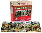 Kırkpabuç Dinozorlar 100 Parçalık Floor (Karton)  6420