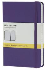 Moleskine Pocket Squared Hard Cover Notebook - Kareli Mor Defter
