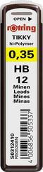 Rotring Hi-Polymer Kurşun Kalem Ucu 0.3 mm (Hb) S0312410