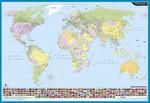 Discovery Duvar Harita 70X100 Dünya Siyasi