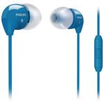 Philips SHE3595BL/00 Kulak İçi Silikonlu Kulaklık Mikrofon Ve Arama Butonu Destekli Mavi