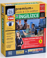 TMM Premium Live Class Books & CDs  İngiliz İngilizcesi-Giriş+Başlangıç+Orta+İleri+İş Düzeyi (18 CD ROM) + Çalışma Kitapları + 6 ay Canlı Sınıf
