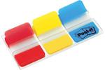 Post-it® Index- Sert Seperatör Kırmızı-Sarı-Mavi 3renkx22 AD 686-RYB