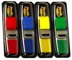 Post-it® Index-Isaret Bandi 4renkx35adet Siyah Dispenserli 683-4