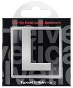 IF 92912 Helvetica Clip-On Bookmarks - Letter L/Kitap Ayracı