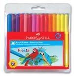 Faber-Castell Fiesta Keçeli Kalem, 30 Lu Poşet - 5068350450
