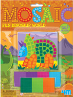 4M Mosaic Fun Dinosaur World 3639