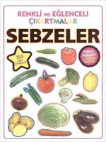Renkli ve Eğlenceli Çıkartmalar - Sebzeler