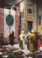 Perre-Carpet Seller /Halı Tüccarı Puzzle 18015