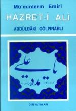 Mü'minlerin Emiri Hz. Ali