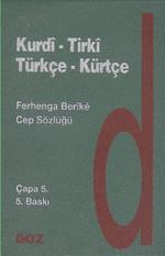 Türkçe-Kürtçe Kurdi-Tirki Cep Sözlüğü