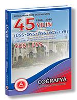 Konularına Göre Düzenlenmiş 45 Yılın YGS-LYS Coğrafya Soruları ve Ayrıntılı Çözümleri