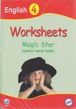 Worksheets Magic Star İngilizce Yaprak Testler English 4