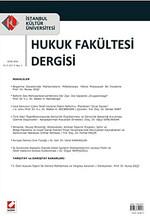 Hukuk Fakültesi Dergisi Yıl: 9 - Cilt: 9 - Sayı: 1