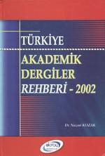 Türkiye Akademik Dergiler Rehberi - 2002