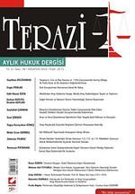 Terazi Aylık Hukuk Dergisi Yıl: 5 Sayı: 48