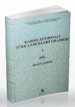 Karşılaştırmalı Türk Lehçeleri Grameri 1