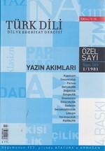Türk Dili Sayı 349: Yazın Akımları