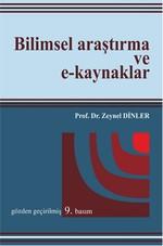 Bilimsel Araştırma ve E-Kaynaklar