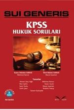 Sui Generis KPSS Hukuk Soruları