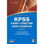 KPSS Kamu Yönetimi Soru Bankası