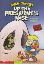 Jimmy Sniffles Up The President's Nose