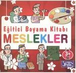 Eğitici Boyama Kitabı - Meslekler