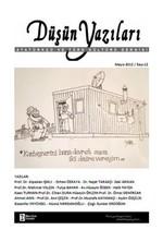 Düşün Yazıları Dergisi Sayı: 12