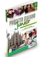 Progetto Italiano Junior 3 (Ders Kitabı ve Çalışma Kitabı+CD) İtalyanca Orta Seviye