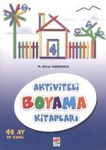 Aktiviteli Boyama Kitapları 4