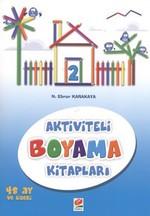 Aktiviteli Boyama Kitapları 2