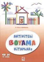 Aktiviteli Boyama Kitapları 3