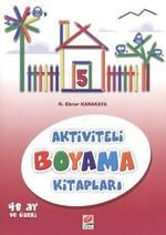 Aktiviteli Boyama Kitapları 5