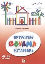 Aktiviteli Boyama Kitapları 6