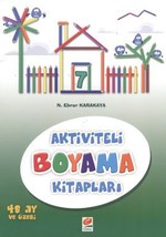 Aktiviteli Boyama Kitapları 7