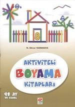 Aktiviteli Boyama Kitapları 8