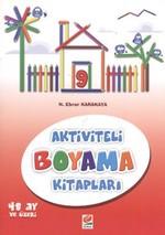 Aktiviteli Boyama Kitapları 9