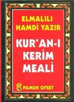 Kur'an-ı Kerim Meali (Cep Boy) (Elmalılı-012)