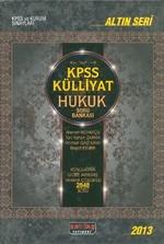 2013 KPSS Külliyat Hukuk Soru Bankası