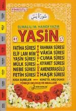 41 Yasin Türkçe Okunuşlu ve Mealli (Orta Boy - Kod Fo18)