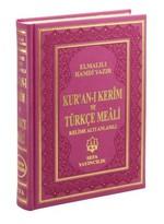 Kur'an-ı Kerim ve Türkçe Meali - Orta Boy -Termo Deri