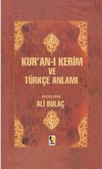 Kur'an-ı Kerim ve Türkçe Anlamı (Orta Boy)