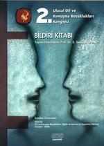 2. Ulusal Dil ve Konuşma Bozuklukları Kongresi Bildiri Kitabı