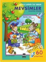 Akıllı Minik ile Obur - Mevsimler Çıkartma Kitabım