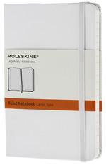 Moleskine Pocket Ruled Hard Cover Notebook - Çizgili Beyaz Defter