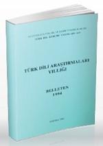 Türk Dili Araştırmaları Yıllığı - Belleten 1994