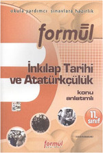 Formül 11. Sınıf T.C. İnkılap Tarihi ve Atatürkçülük Konu Anlatımlı