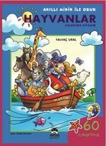 Akıllı Minik ile Obur - Hayvanlar Çıkartma Kitabım