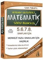 Yetenek Geliştirici Matematik Soru Bankası 5-6-7-8 Sınıflar İçin