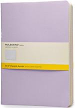 Moleskine 0684 X-Large Cahier Squared 3'lü Pastel Renkler